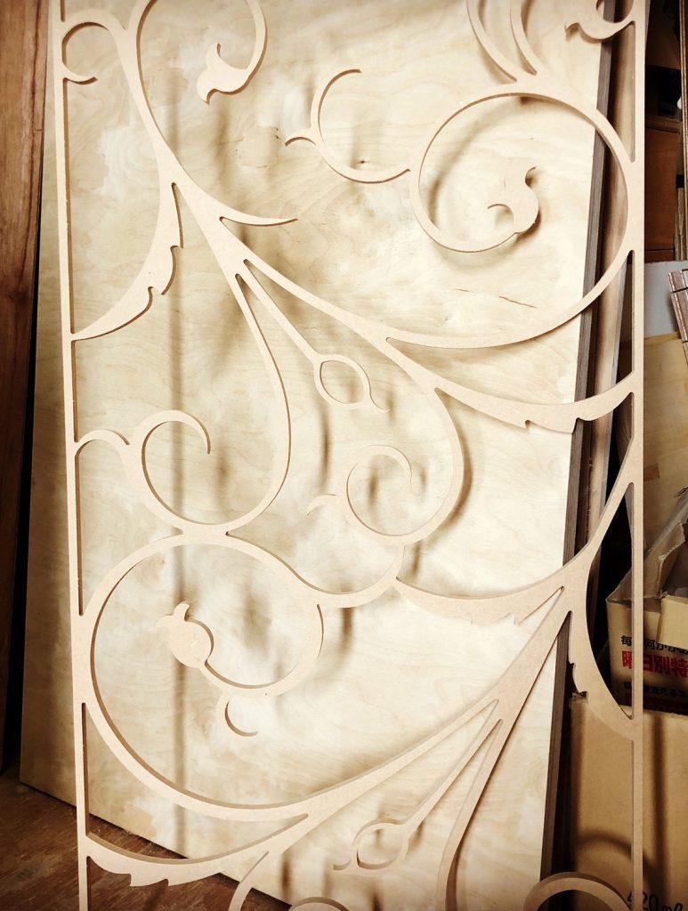 建具の飾りパネル